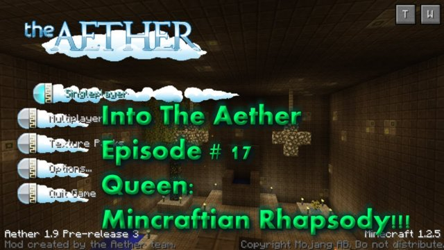 Into The Aether With SpitFire - Queen: Minecraftian Rhapsody