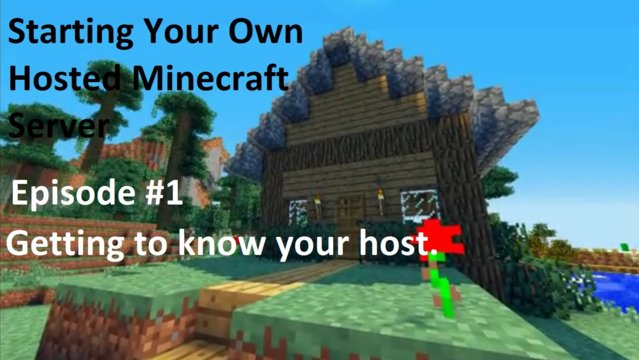 Starting a Hosted Minecraft Server (EnviousHost)