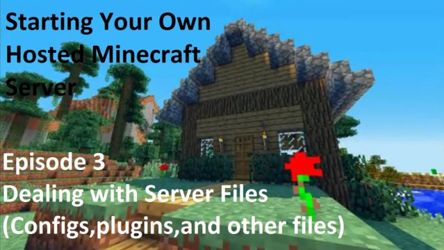 Starting A Hosted Minecraft Server Episode 3 (Installing plugins using Multicraft)