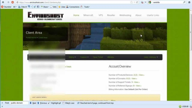 How to start a Minecraft Server (website basics) cPanel