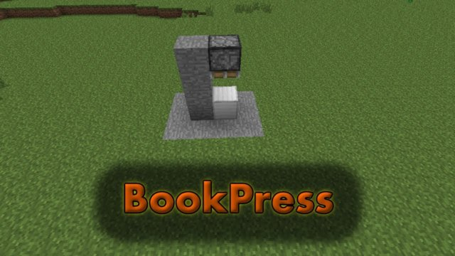Plugin Showcase BookPress for Bukkit