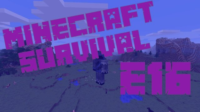 Minecraft Survival - A Whole New World - E16