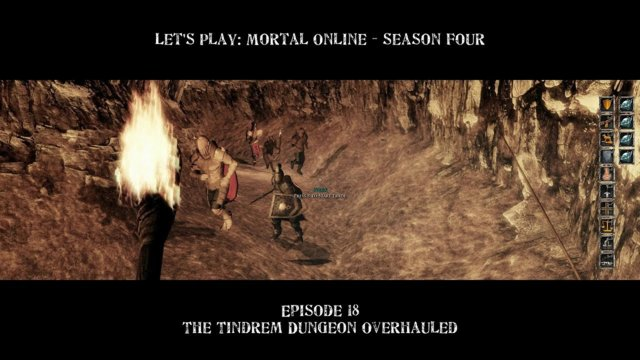 Episode 18: The Tindrem Dungeon Overhauled | Let's Play: Mortal Online - Season Four