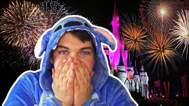 I'M GOING TO LIVE AT DISNEYWORLD!