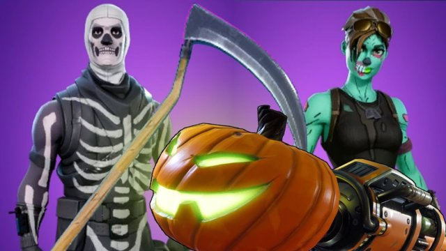 Fortnite Battle Royale - Halloween Update - SPOOKY SKINS & CUSTOMIZATION