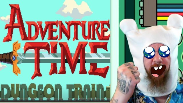 Adventure Time - Dungeon Train Game!  ( 1player, Co-op and Editor )