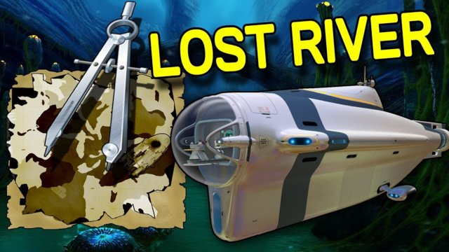 How To Find The LOST RIVER In SUBNAUTICA (w/map) FAST & EASY - NOV 2017