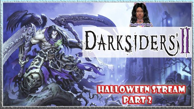 Darksiders 2 I The Horsemen I Let's Play I Halloween Stream Part 2