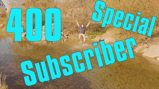 400 Subscriber Special