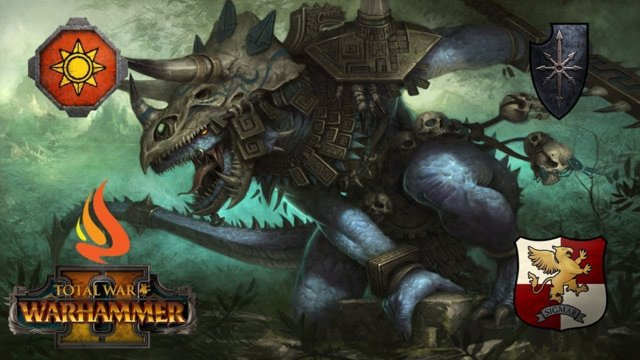 Total War: Warhammer II: Online Battle (Dino double bill) - Game 14 & 15