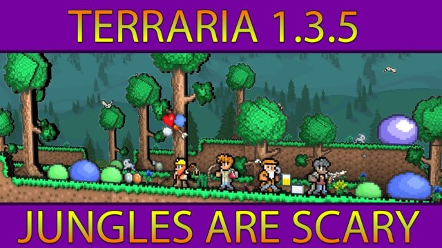 Terraria 1.3.5 #4 (Jungles Are Scary)