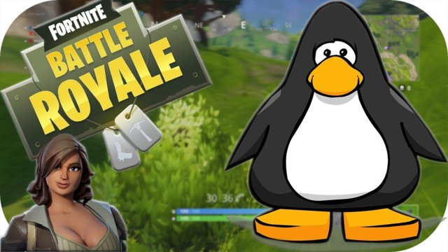 Funny Fails And WTF Moments Fortnite Battle Royale - Club Penguin, Habbo Hotel