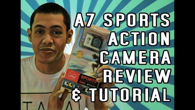 A7 Sports Action Camera Review and Tutorial