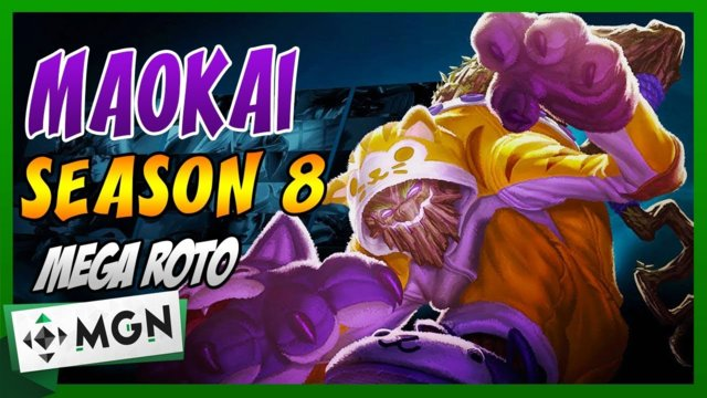 MAOKAI LO MAS ROTO DE TOP Season 8 RUNAS OP  | League of Legends | Gameplay Español #MGN