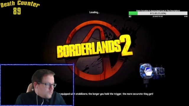 First Donation on 12 hours Borderlands 2 stream!