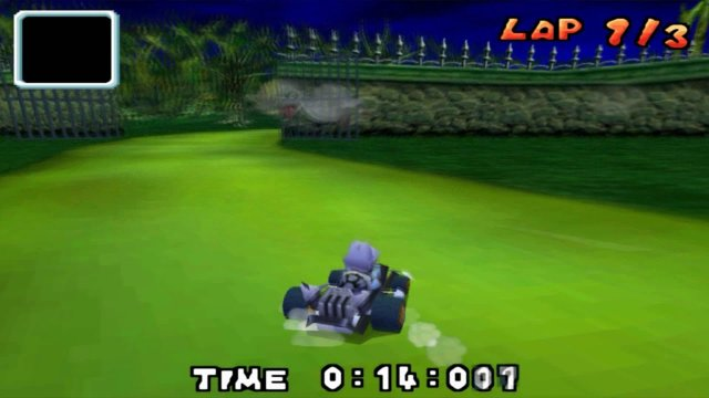 Mario Kart DS Luigi's Mansion Beta fast lap 26:471 [World Record]