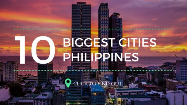 Top 10 Biggest Cities in the Philippines by Population