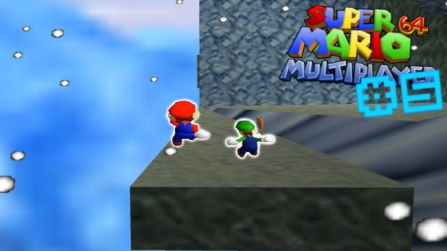 BEATING THE IMPOSSIBLE SLIDE! - Super Mario 64 Multiplayer Hack #5