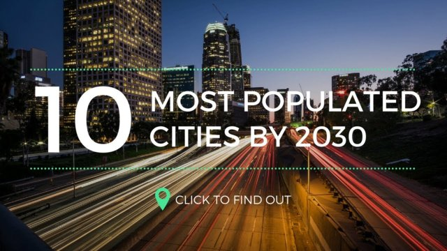 10 Most Populated of Cities of The Future by 2030
