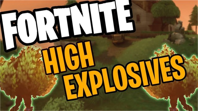 Bush Brothers | Fortnite High Explosives Win