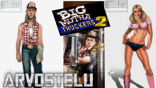 "(EN SUBBED) Big Mutha Truckers 2 ""game review"""