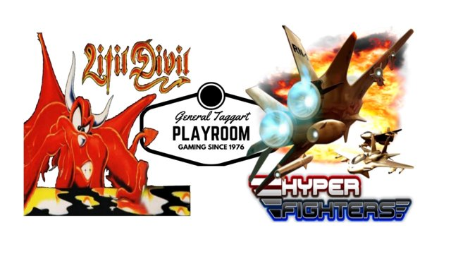Hyperfighters and Litil Divil  - a game review