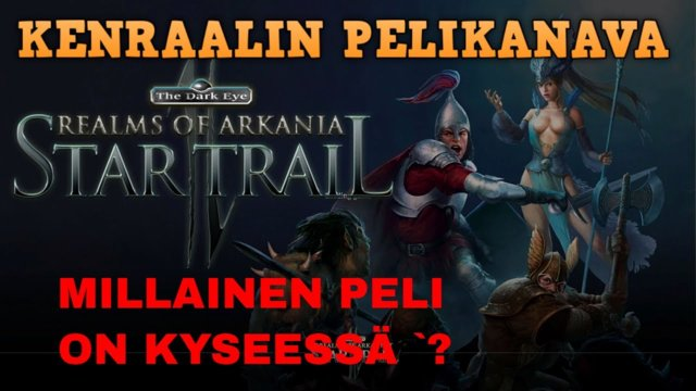 Mietteitä Realms Of Arkania 2: Star Trail remakesta