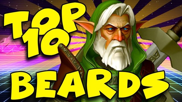 TOP 10 - EPIC VIDEO GAME BEARDS -