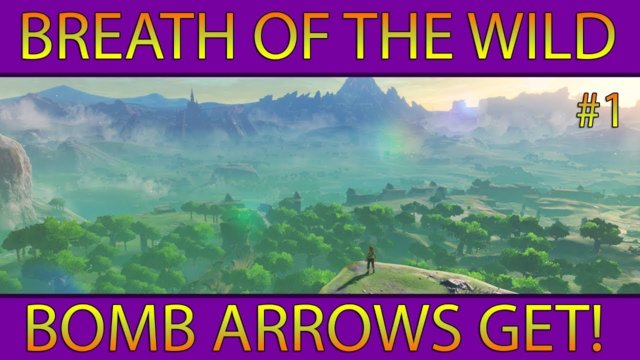 Let's Play BotW #1: Bomb Arrows Get! (Nintendo Switch)