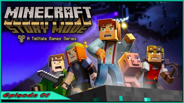 Minecraft Story Mode S1 - Nooo Reuben's dont run |Episode 2|