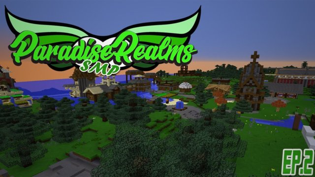 ⚔️Paradise Realms SMP || I'm Flying |Ep.2|