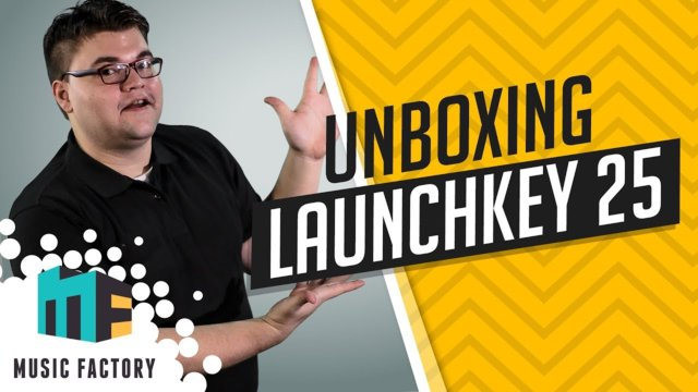 UNBOXING & GIVEAWAY NOVATION LAUNCHKEY - MUSIC FACTORY