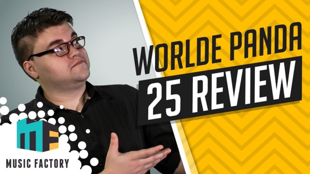 REVIEW - WORLDE PANDA 25 KEY MIDI KEYBOARD - MUSIC FACTORY