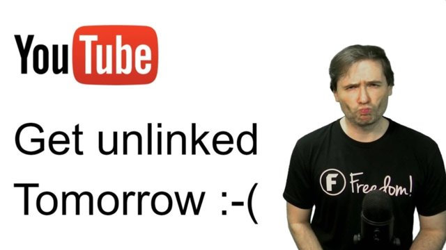 ★ Get unlinked tomorrow :-(