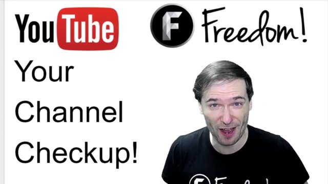 ★ Your Channel Checkup - Free for Freedom! Family