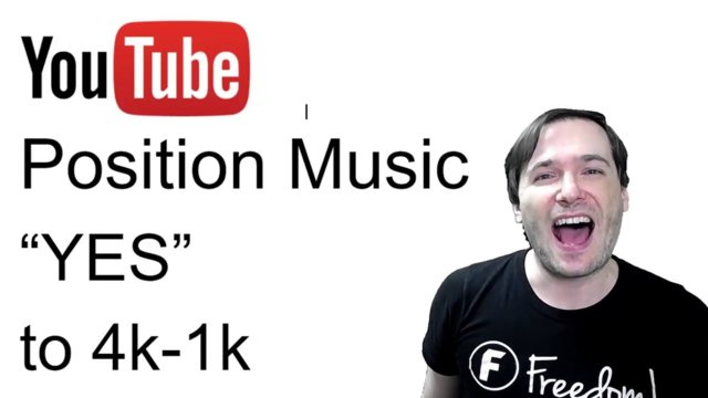 "★ Position Music said ""YES"" to 4k-1k channels!"