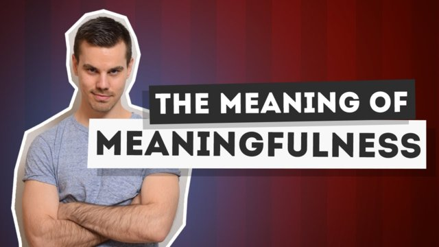 ★ The meaning of meaningfulness. #Freedomfamily