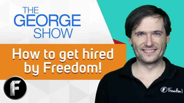 ★ How to get hired by Freedom!