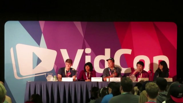 ★ YouTube animators panel (Animation Collective) #Vidcon #FreedomFamily