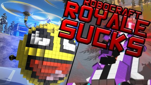 WORST ROYALE GAME? | Robocraft Royale