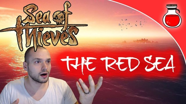 THE RED SEA | Sea of Thieves | Sailing Off The Map | Solo Sail