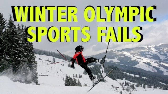 TOP 25 OLYMPIC FAILS OF 2018!