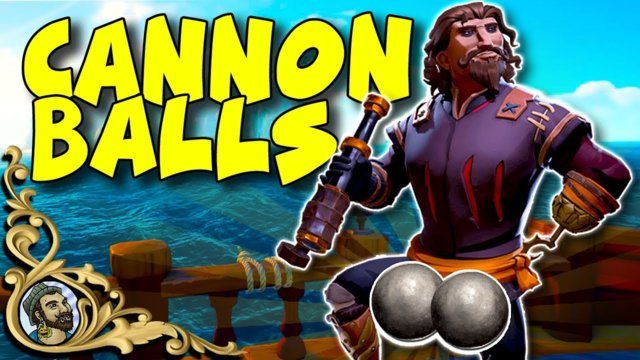 Sea Of Thieves - NEW CANNON BALLS? - Whos got the biggest cannonballs