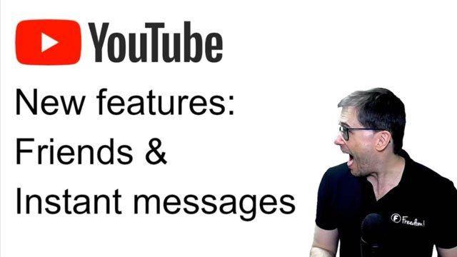 ★ New YouTube features: Friends and instant messages!