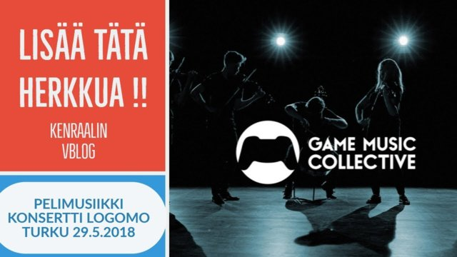 Rare treat - a game music concert - We play game music in Logomo, Finland 2018