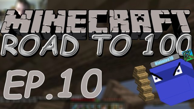 ZZZZZZZZZZZ and THE ROOF!!! | Minecraft: Road to 100 (ep. 10)