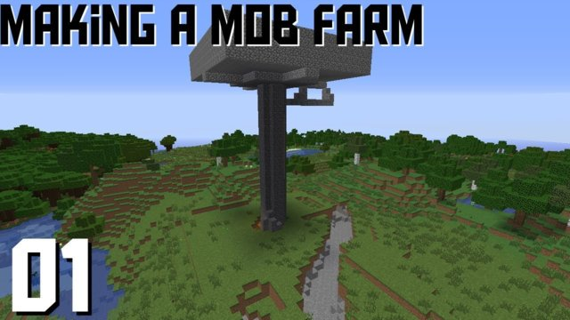 Making A Mob Farm! || Minecraft SMP - Ep 05