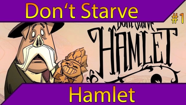 Unknown Jungles - First Look | Don't Starve Hamlet Gameplay #1 (Early Access)