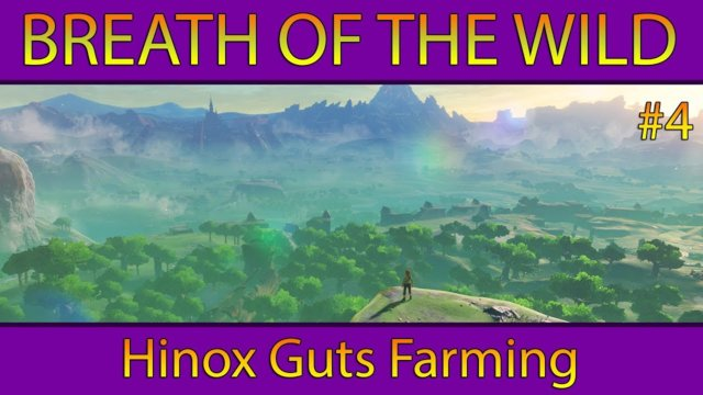 Hinox Guts Farming - Breath of the Wild Gameplay #4 (Nintendo Switch)