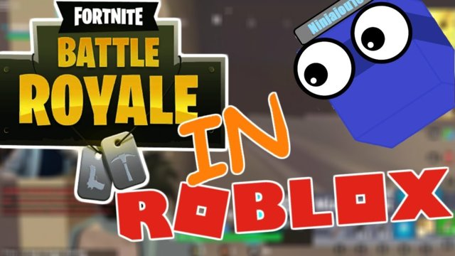 FORTNITE IN ROBLOX!!!